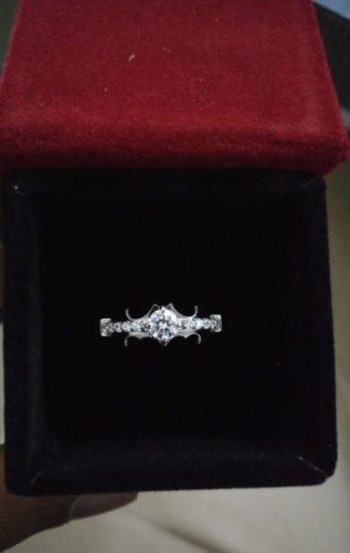 Batman fame Engagement ring for couple SJ7134 photo review