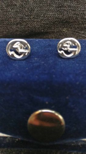 Gucci Interlocking G Design Screw Back Stud Earrings In Solid 14K Gold For Beautiful Women's Gifts SJ7411 photo review