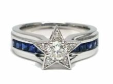 New Dallas Cowboys National Football Championship Ring In 925 Sterling Silver SJ8395
